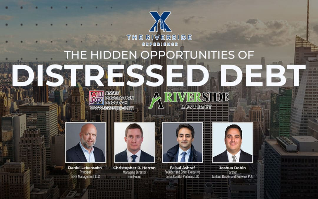 Watch the replay of our Hidden Opportunities Of Distressed Debt webinar